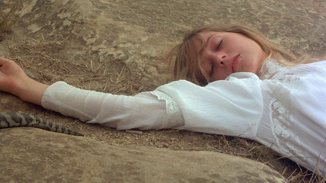 the spectral power of a 1975 movie about girls lost in the outback