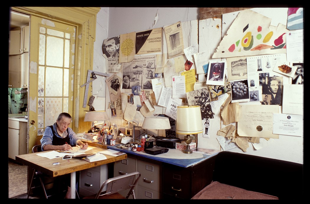 Louise Bourgeois Dibujos Hauser y Wirth