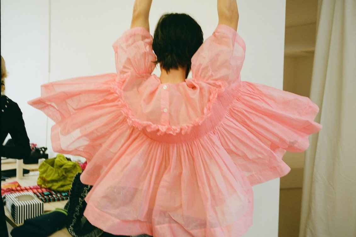 Watch: Behind the Scenes of Molly Goddard's Latest Collection