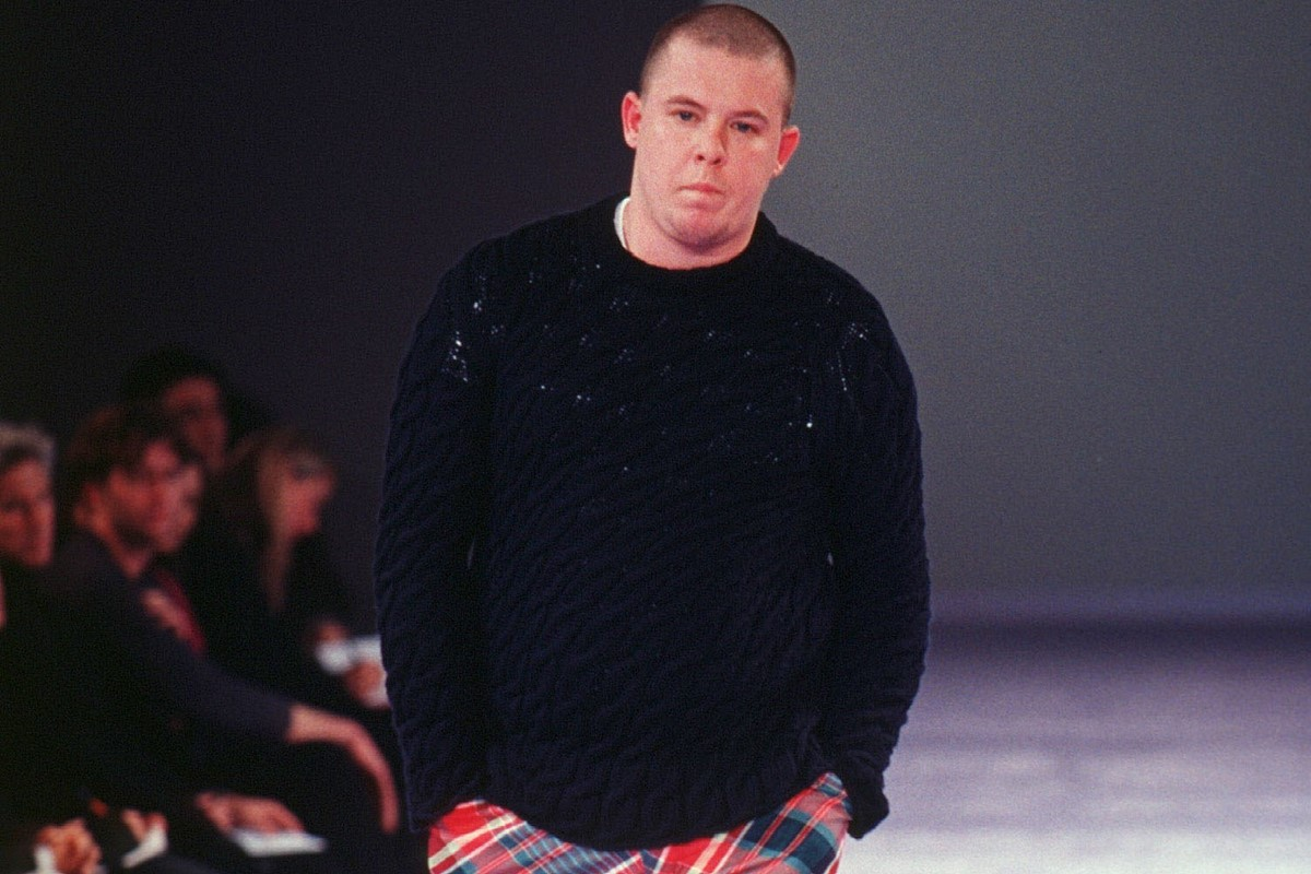 9acf3627 When Alexander McQueen Turned Model for Comme des Garçons | AnOther