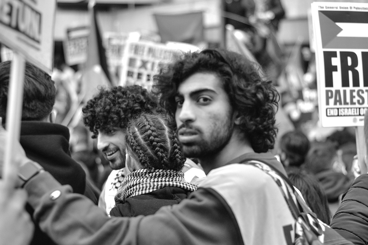 Photo Essay: The Free Palestine Protest in London