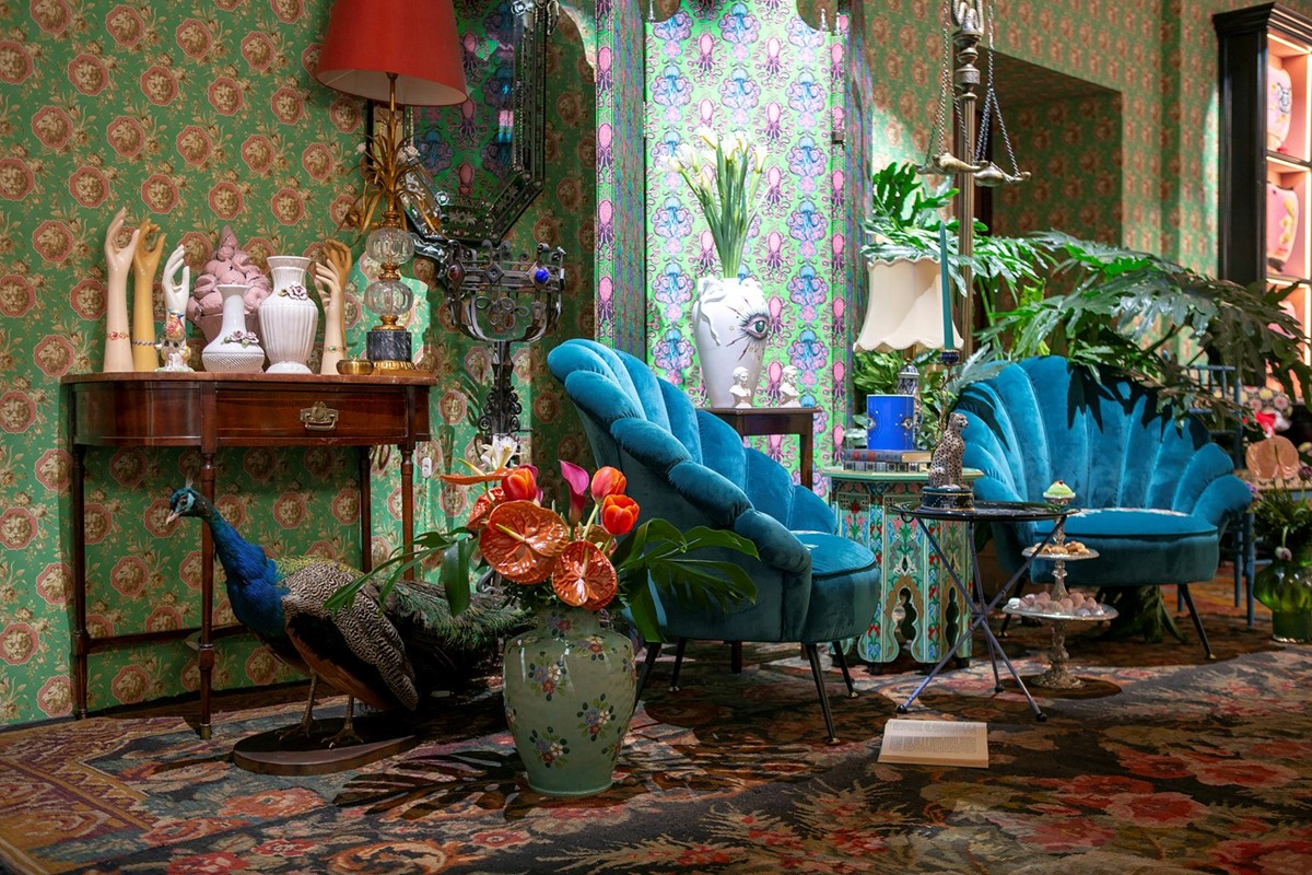 Here's What It Would Look Like If You Gucci fied Your Home   AnOther