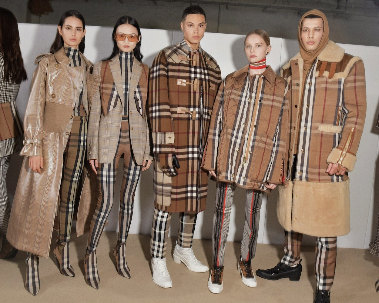 Backstage at the Burberry Autumn_Winter 2020 Show_