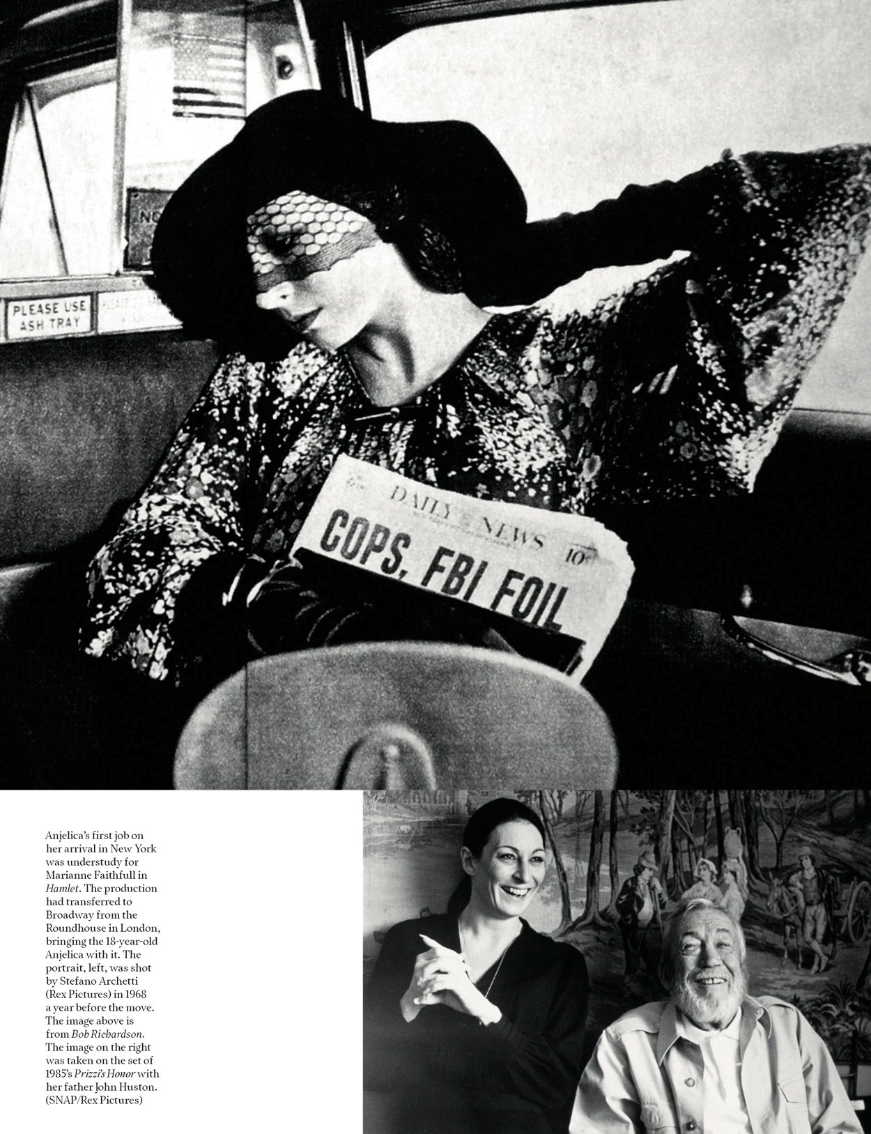 Anjelica Huston for AnOther Magazine Spring/Summer 2008