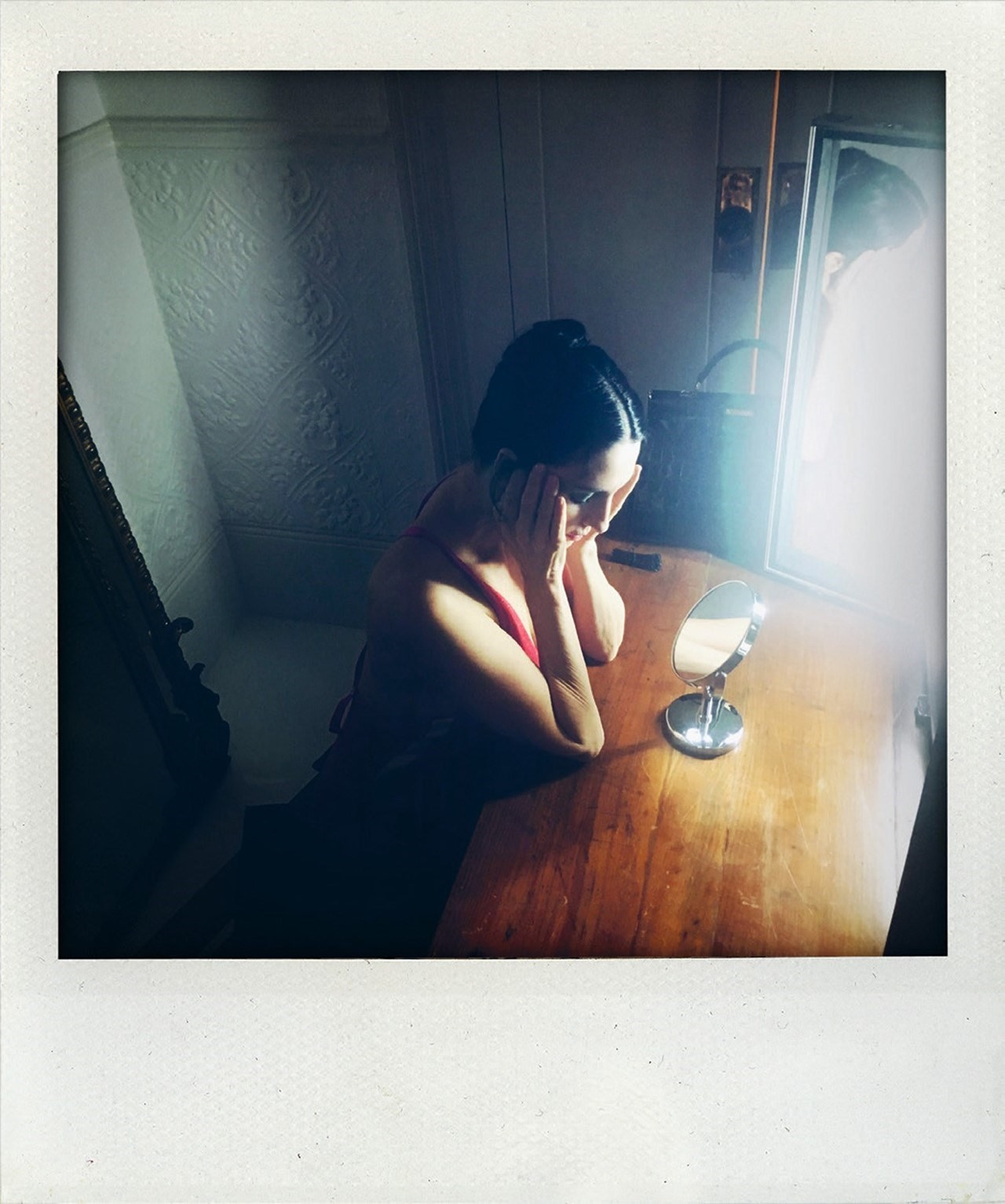 Polaroids by Nick Cave