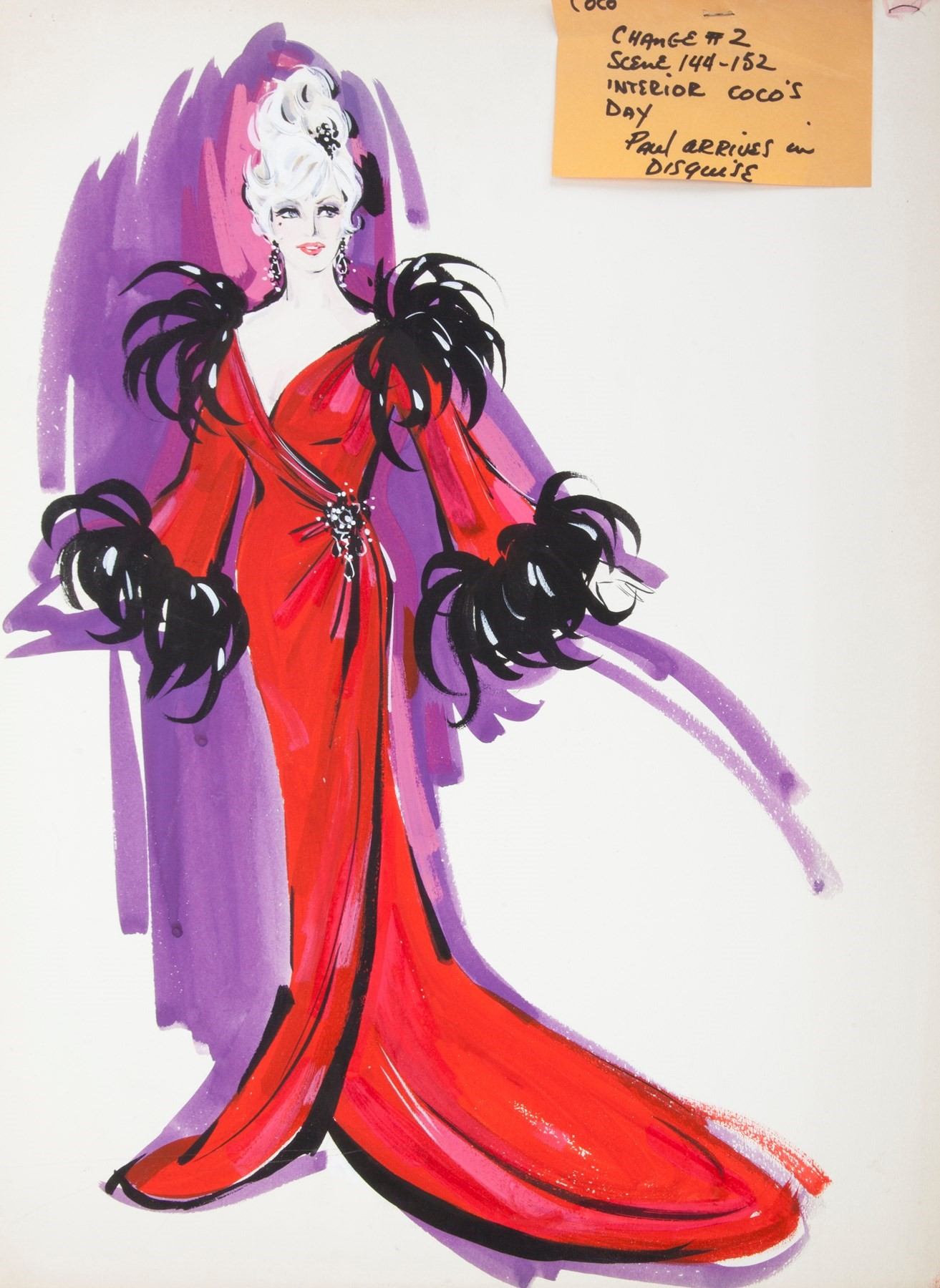 71643.00 MAE WEST THE ART OF LOVE COSTUME ILLUSTRA
