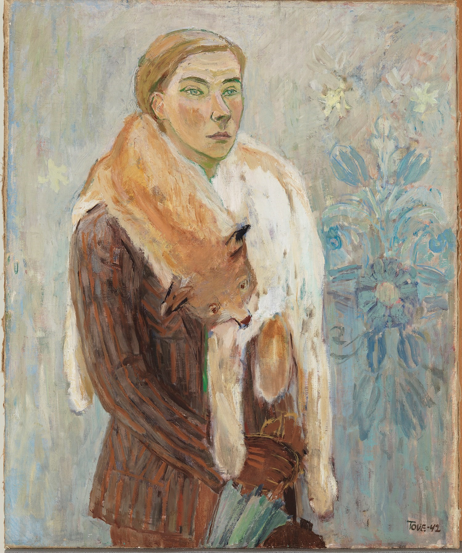 Lynx Boa (Self-Portrait), 1942