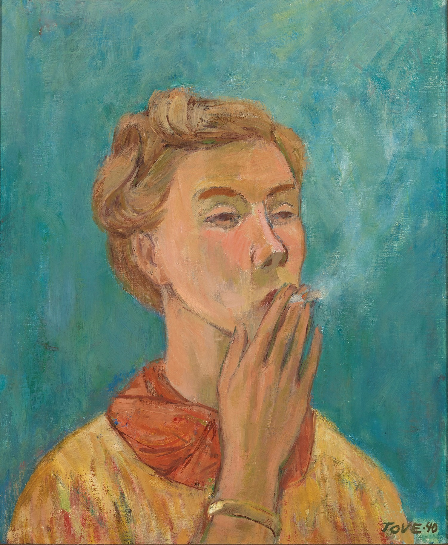 The Smoking Girl