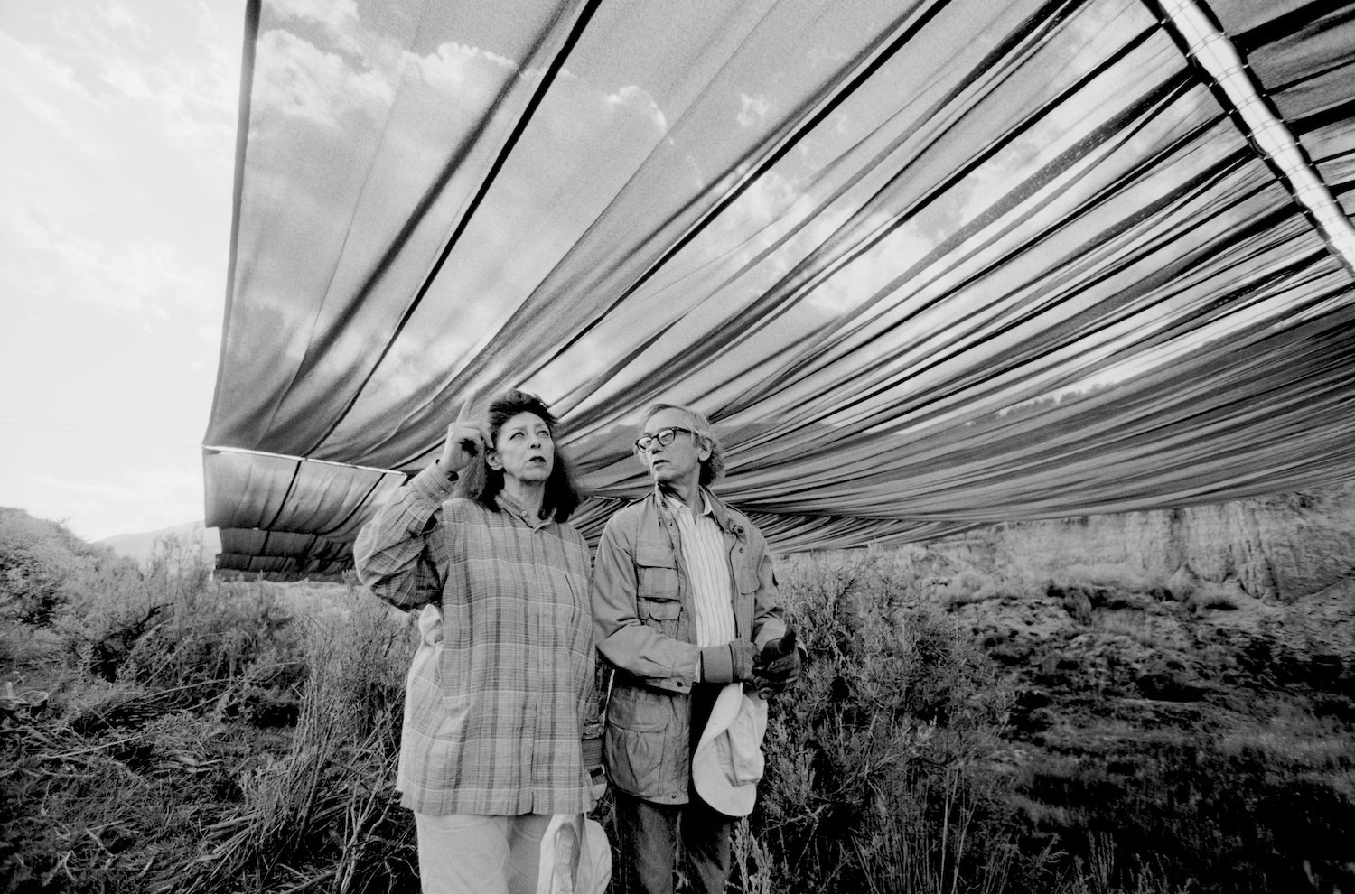 Over The River - Christo and Jeanne-Claude during