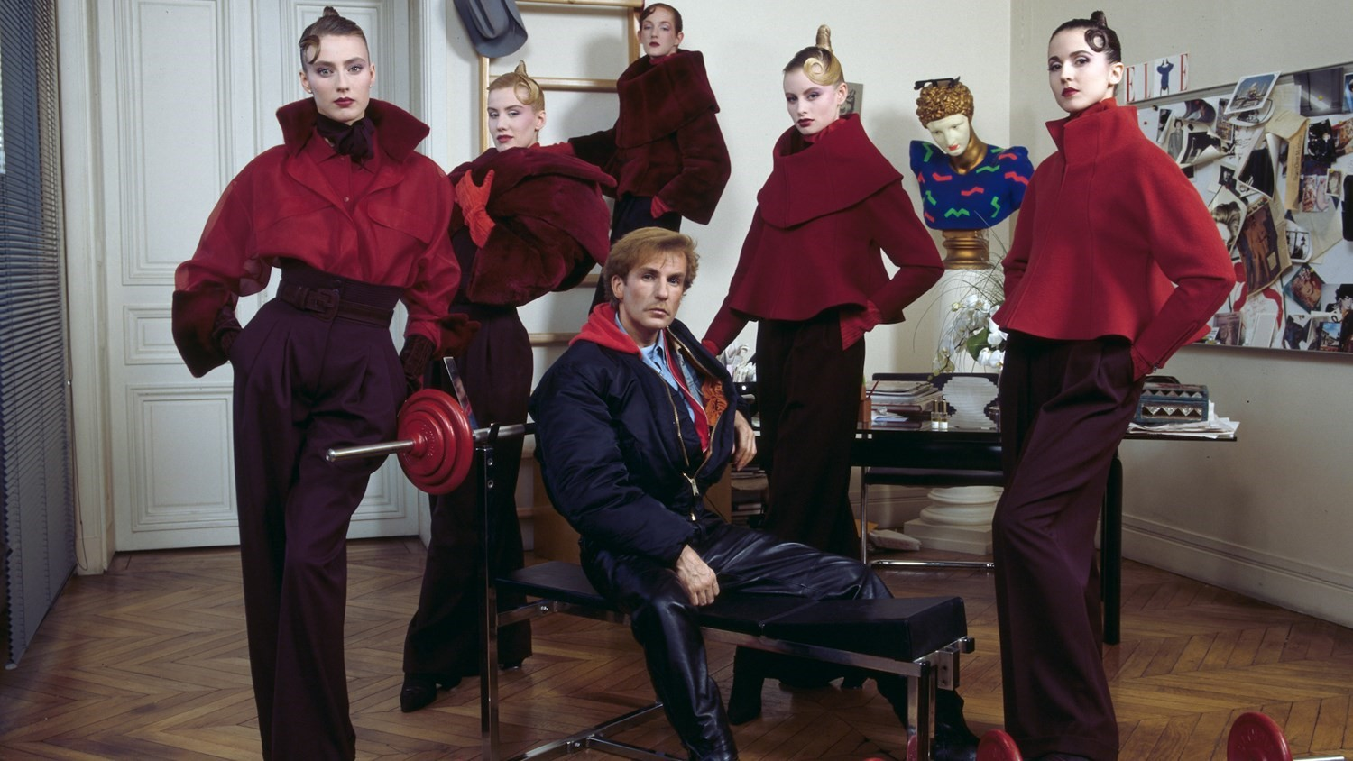 Claude Montana fashion designer 1980s