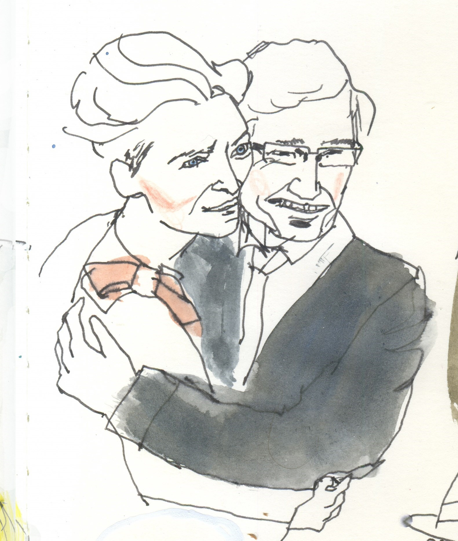 Tilda Swinton and Paul O'Grady