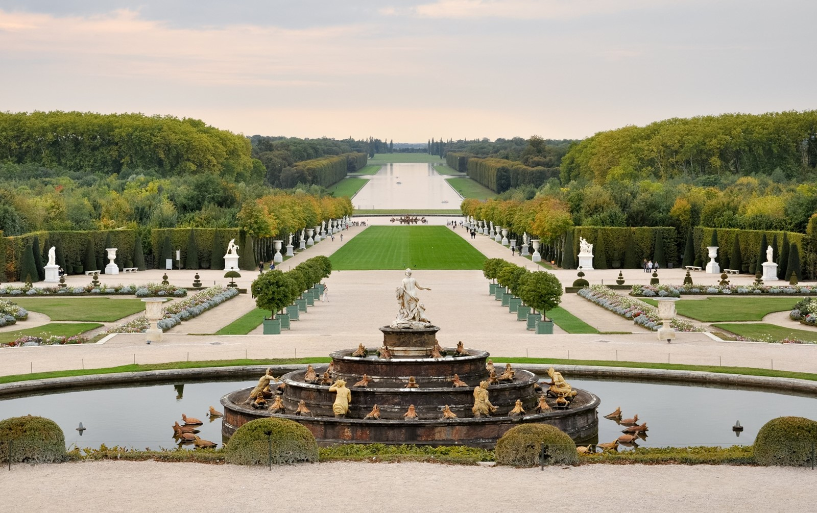 The Gardens of the Palace of Versailles, France