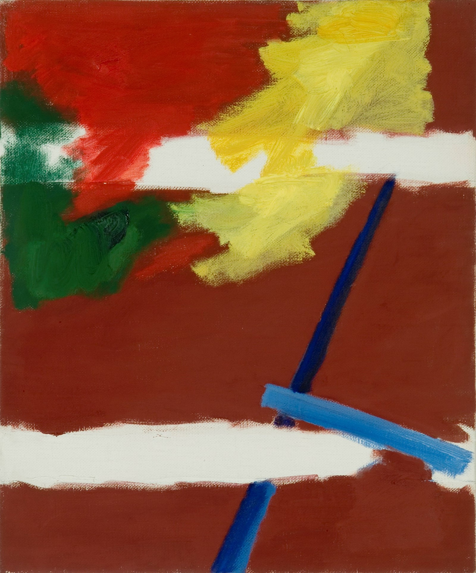 Raoul De Keyser,Hal (3), 1985,Courtesy Collection