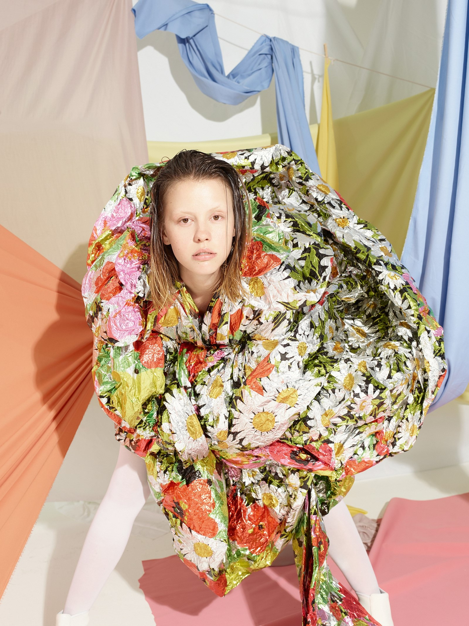 Photography by Viviane Sassen, Styling by Katie Shillingford