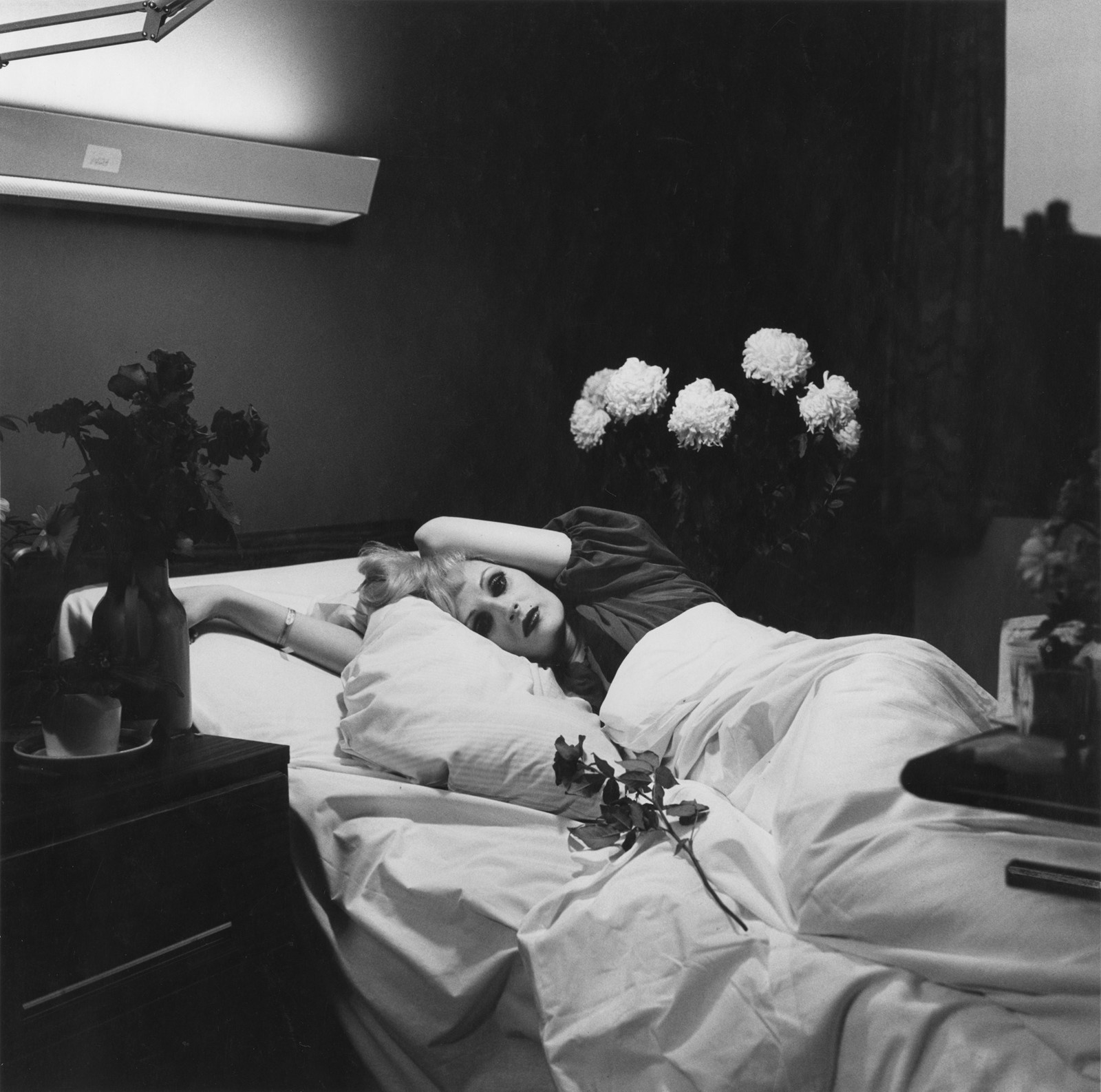 Peter Hujar, Candy Darling on her Deathbed, 1974