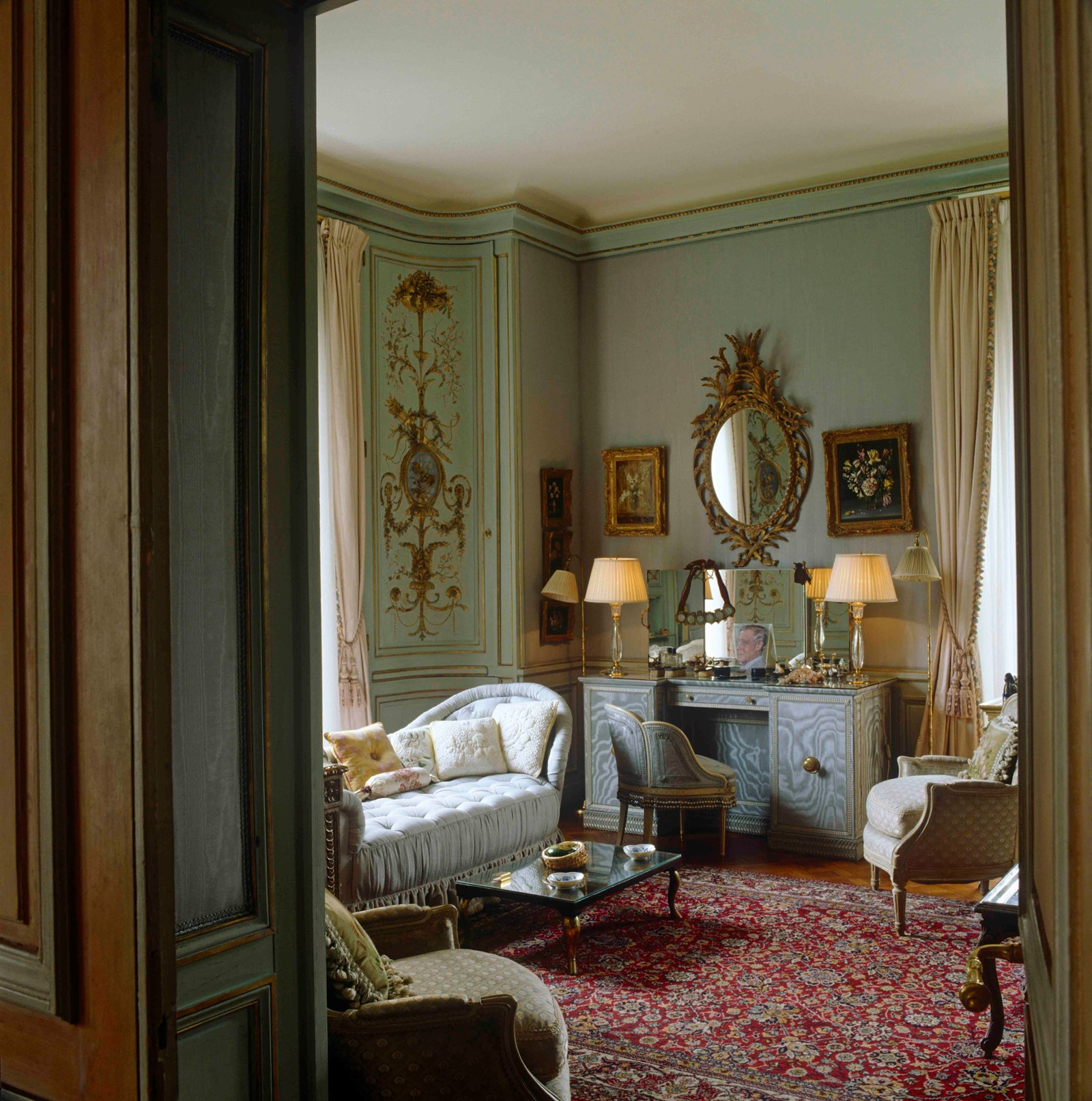 The Duchess of Windsor's bedroom Wallis Simpson
