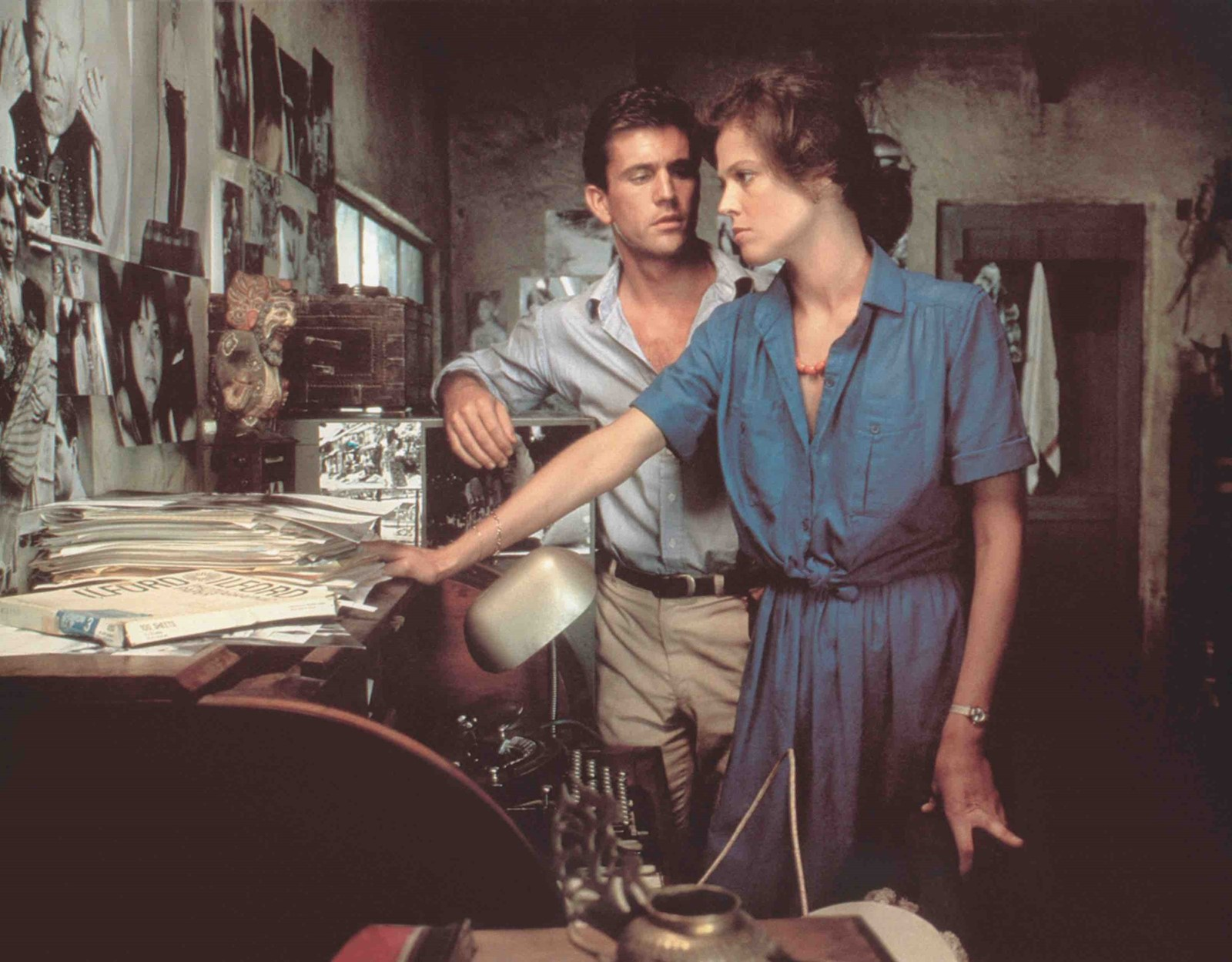 Sigourney Weaver in The Year of Living Dangerously by direct
