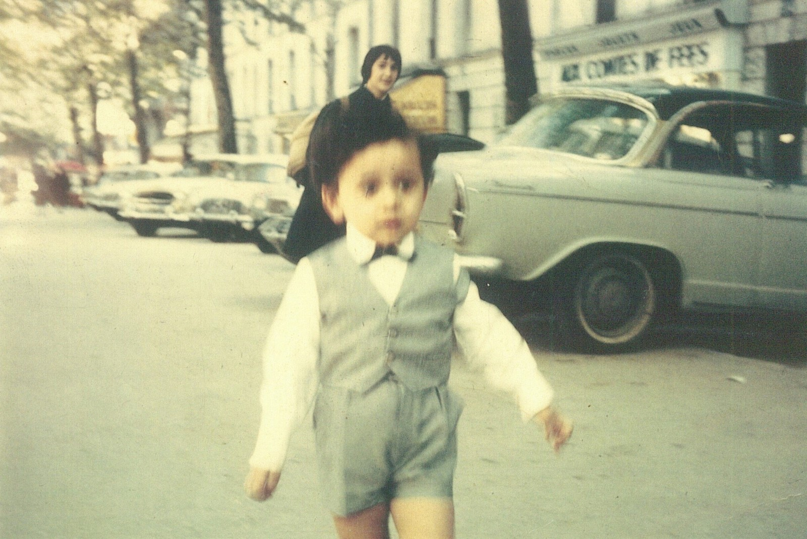 Christian Louboutin at the age of 2, Avenue Daumes