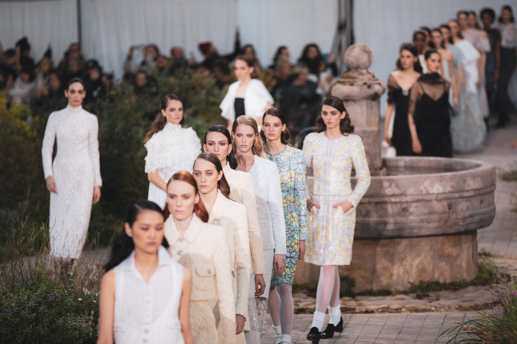 Chanel's Haute Couture Show Draws on Coco Chanel's Cloistered Childhood