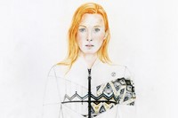Maggie Rizer for Louis Vuitton A/W14
