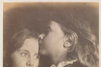 Ernest and Maggie, c.1864, Julia Margaret Cameron
