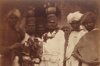 Group of Ceylonese Plantation Workers, c.1875-78,