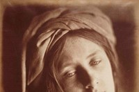 Study of the Beatrice Cenci from May Prinsep, 1866