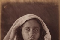 Young Ceylonese woman plantation worker, c.1875-18