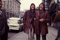Sonny & Cher after performing live for a TV recording, June