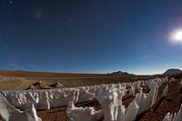 Penitentes in the Atacama Desert