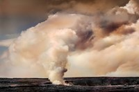 Kilauea Volcano on Hawai'i