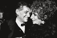 Leonard Bernstein and Barbara Streisand