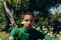 Tyler Mitchell, Untitled (Boy in Garden), Morocco, 2018