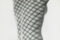 Erwin Blumenfeld _ Nude with Screen Shadow, NY, 19