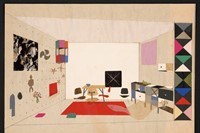 17. The World of Charles and Ray Eames. Collage of