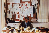 Portrait of Yves Saint Laurent 1986_©Fondation Pie