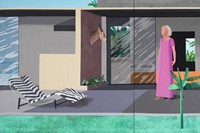 David Hockney, Beverly Hills Housewife, 1966-67, acrylic on