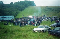 Party in a quarry, near Brighton 2000