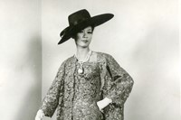 Marescot lace coat and cocktail dress, 1963
