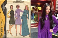 Samantha purple dress