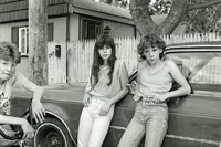 Christine-Osinski,-Two-Girls-with-Big-Wheels,-1983