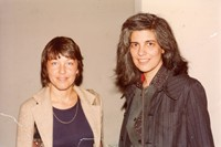 6 Susan Sontag, c. 1975-79 from 'Bettie's FemmeFol