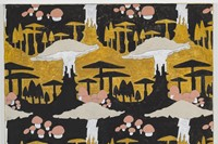 4. Alex Morrison, 'Mushroom Motif' (Black and Ochr