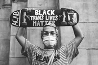 American Protest. Photographs 2020-2021 by Mel D. Cole