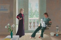 David Hockney, Mr and Mrs Clark and Percy, 1970-71, acrylic