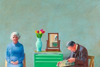 David Hockney, My Parents, 1977, oil on canvas