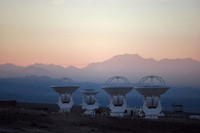 The Alma Observatory antennas
