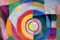 Electric Prisms, Sonia Delaunay, 1913-14