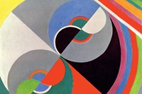 Rhythm Colour no. 1076, Sonia Delaunay, 1939