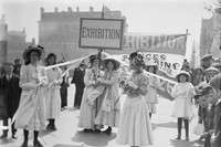 14. Young Suffragettes